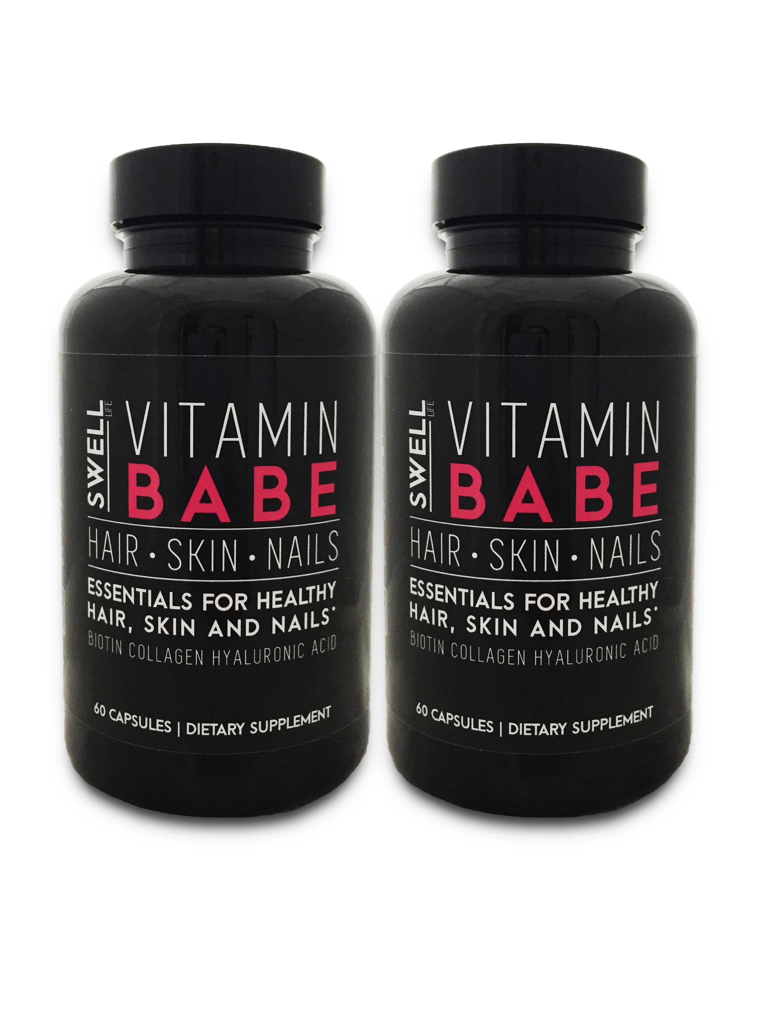 Vitamin Babe Hair Skin & Nails - 4 month supply | Swell Life